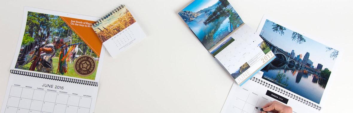 Custom Calendar Printing | Personalized Calendars | Smartpress